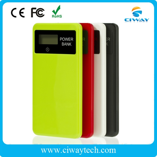 Classic high-end colorful polymer power bank