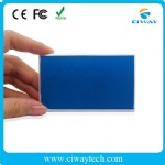Private mold credit card design polymer power bank