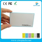 Private mold credit card Acrylic mirror polymer power bank